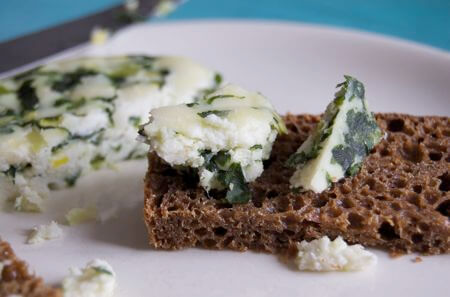 Goat's Cheese Recipe With Wild Garlic