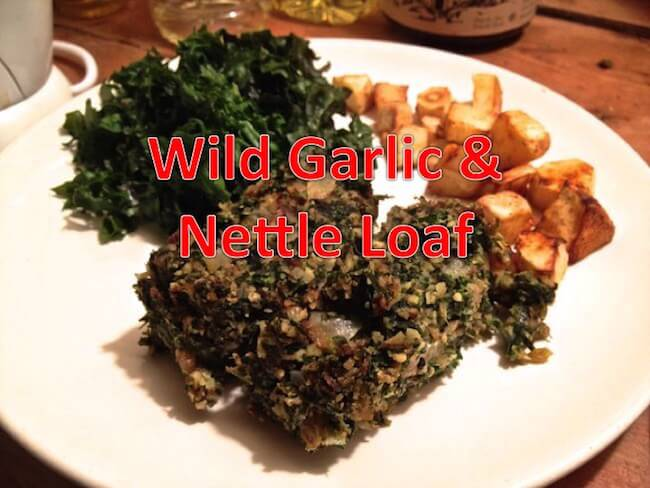 Wild Garlic Nut Loaf Recipe