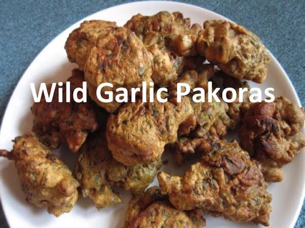 Wild Garlic Pakora Recipe