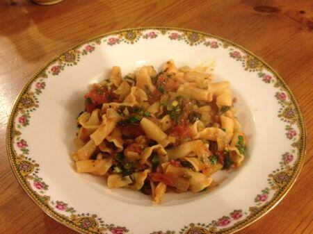 Post image for Wild Garlic Pasta Sauce