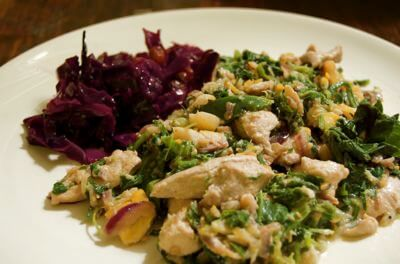 Fish and Sea Beet Recipe