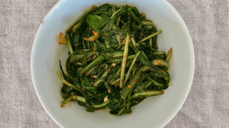 Braised Dandelion Greens Recipe
