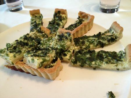 Ground Elder Quiche Recipe