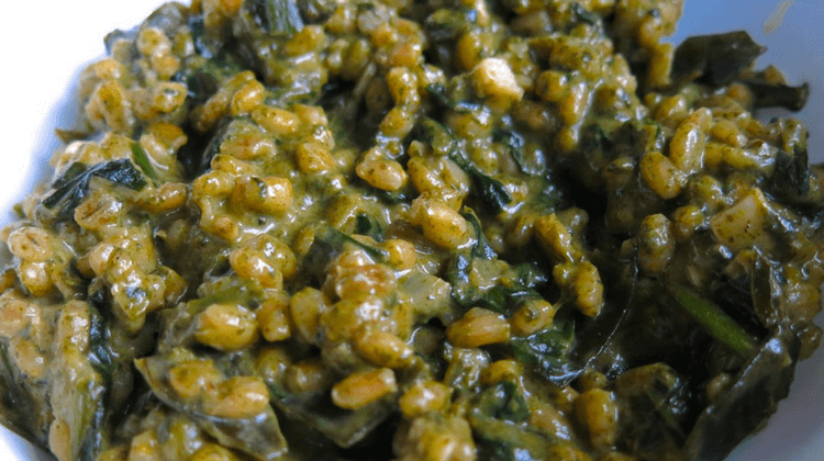 Nettle Barley Risotto Recipe