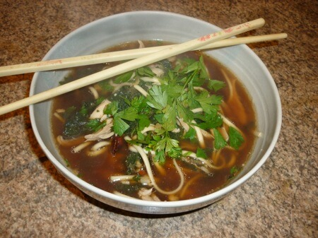 Noodle Nettle Soup Recipe