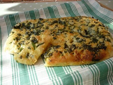 Wild Garlic Focaccia Recipe