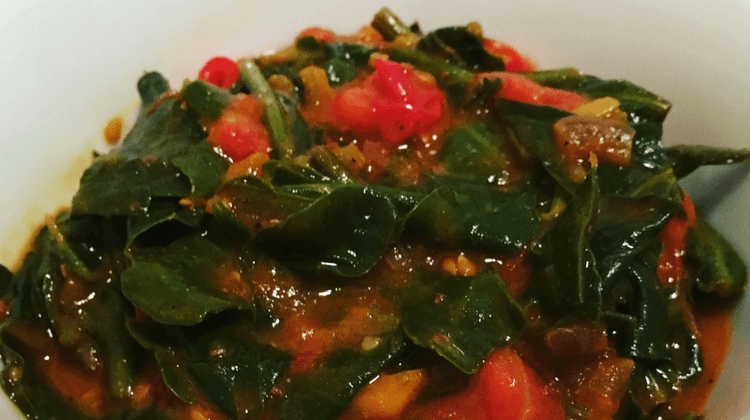 Sea Beet Bhujia Recipe